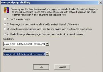 Объединение страниц в PDF
